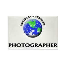 World's Sexiest Photographer Rectangle Magnet