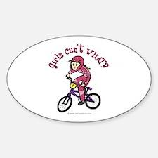 Light Pink BMX Oval Decal