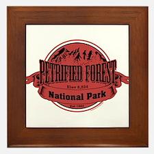 petrified forest 2 Framed Tile