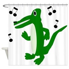 Crocodile Shower Curtain