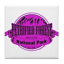 petrified forest 2 Tile Coaster