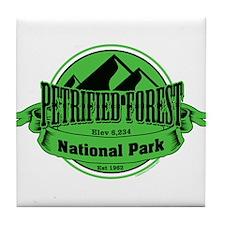 petrified forest 5 Tile Coaster