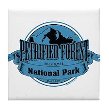 petrified forest 3 Tile Coaster