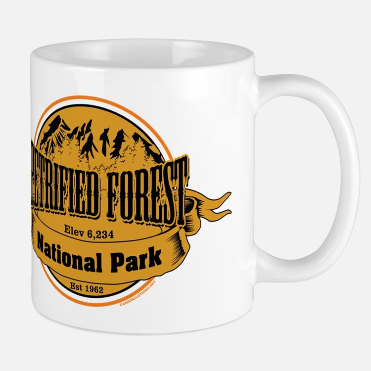 petrified forest 2 Small Mug