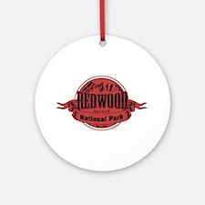 redwood 2 Ornament (Round)