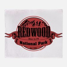redwood 2 Throw Blanket