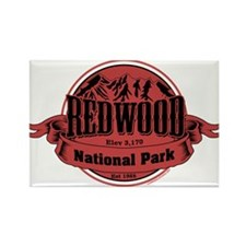 redwood 1 Rectangle Magnet