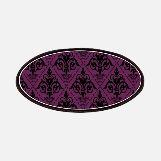 Black & Alyssum Damask #29 Patches