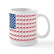 Patriotic Greyhounds Mug