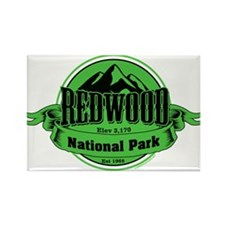 redwood 4 Rectangle Magnet