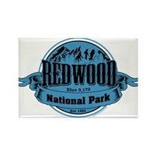 redwood 2 Rectangle Magnet