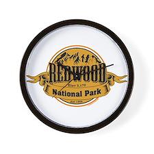 redwood 2 Wall Clock