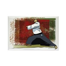 Martial Arts Rectangle Magnet (10 pack)