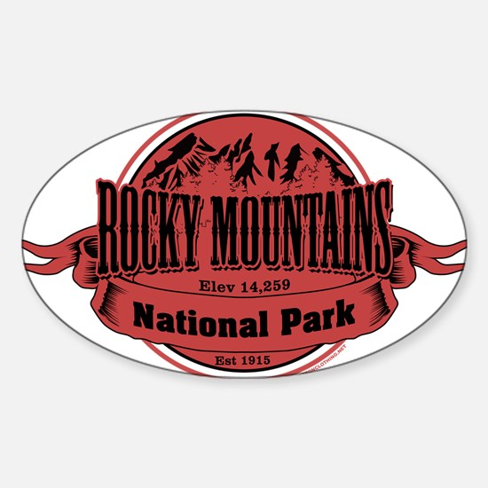 rocky mountains 2 Decal