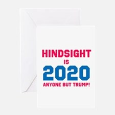 Hindsight is 2020 Greeting Cards