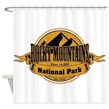 rocky mountains 5 Shower Curtain