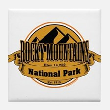 rocky mountains 5 Tile Coaster