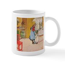 Churning Butter (square) Mug