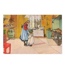 Churning Butter Postcards (Package of 8)