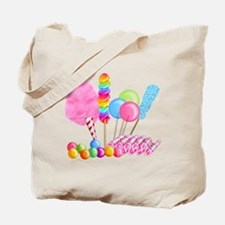 Candy Circus Tote Bag