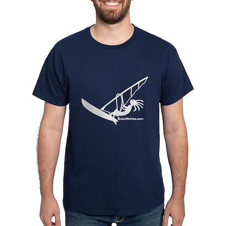 Kokopelli Windsurfer Dark T-Shirt