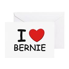 I love Bernie Greeting Cards (Pk of 10)