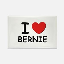 I love Bernie Rectangle Magnet