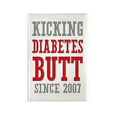 Diabetes Butt Since 2007 Rectangle Magnet