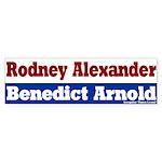 Rodney Alexander Bumper Sticker
