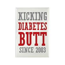 Diabetes Butt Since 2003 Rectangle Magnet