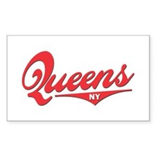 Queens NY Rectangle Decal