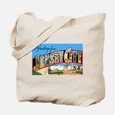 Jersey City New Jersey Greetings Tote Bag