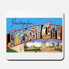 Jersey City New Jersey Greetings Mousepad