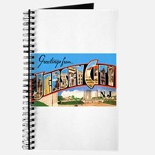 Jersey City New Jersey Greetings Journal