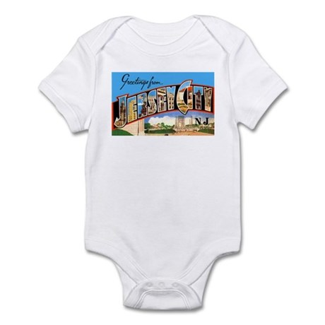 Jersey City New Jersey Greetings Infant Bodysuit