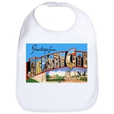 Jersey City New Jersey Greetings Bib