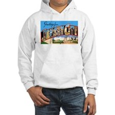 Jersey City New Jersey Greetings (Front) Hoodie