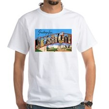 Jersey City New Jersey Greetings (Front) Shirt