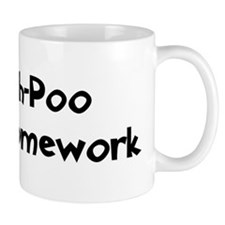 Shih-Poo ate my homework Mug