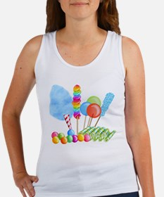 candy circus boy- png Tank Top