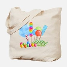 candy circus boy- png Tote Bag