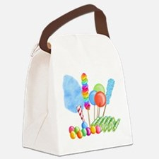 candy circus boy- png Canvas Lunch Bag