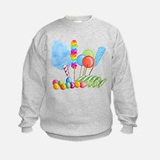 candy circus boy- png Sweatshirt