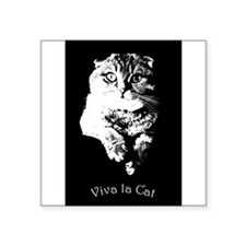 Viva La Cat Sticker