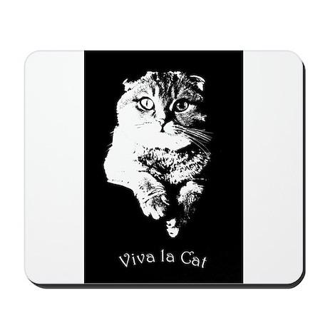 Viva La Cat Mousepad
