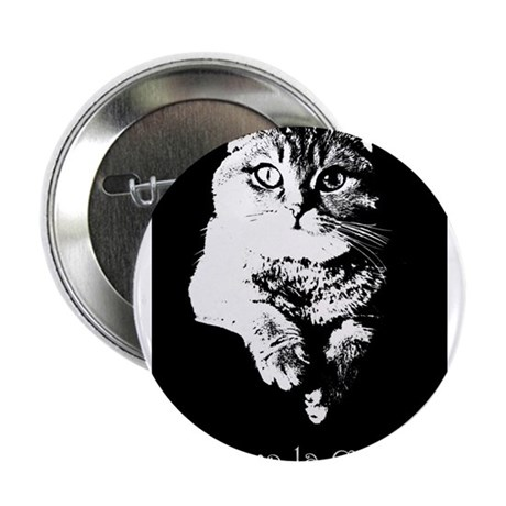 "Viva La Cat 2.25"" Button"