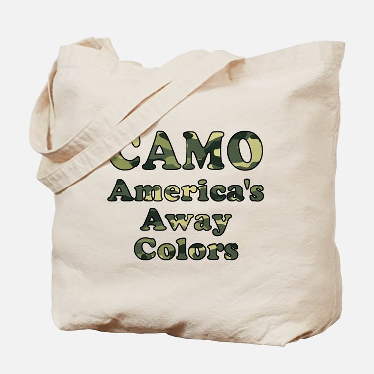 Camo America's Away Colors Tote Bag