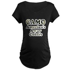 Camo America's Away Colors T-Shirt