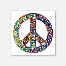 Pride and Peace Sticker