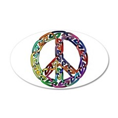 Pride and Peace Wall Decal